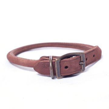 Collar_De_Piel_Para_Perro_Color_Chocolate-CO03216CHL18-1