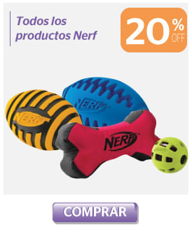 20off roductos Nerf